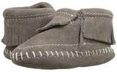 Minnetonka Kids Riley Bootie (Infant/Toddler) (Grey) Kids Shoes