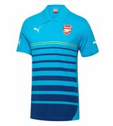 Puma Arsenal 2014/2015 Leisure Hooped Polo (M)