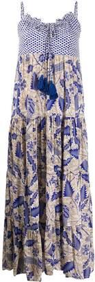 Nikita Cecilie Copenhagen patterned tiered dress