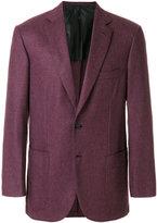 Brioni half lined blazer