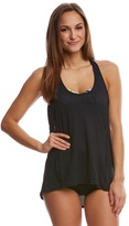 Beach House Women's Abstract Warrior Shakti Double Time Tankini Top 8151229