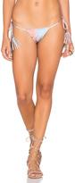 Indah Collins Tie Dye Side Tie Bikini Bottom