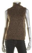 Lauren Ralph Lauren Womens Wool Metallic Turtleneck Sweater