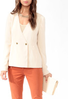 Forever 21 Love 21 Double-Breasted Blazer