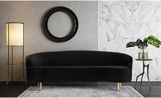 Thumbnail for your product : TOV Furniture Baila Velvet Upholstered Sofa