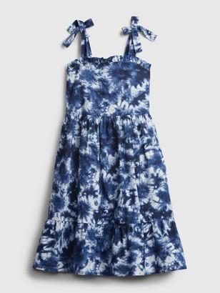 Gap Kids Tie-Dye Print Dress