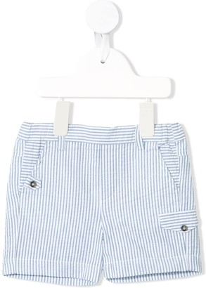 Tartine et Chocolat Striped Seersucker Shorts