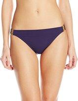 Bleu Rod Beattie Bleu | Rod Beattie Women's Gilt Trip Hipster Bikini Bottom