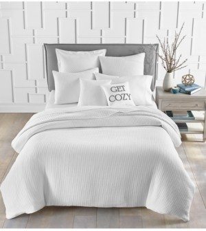 Charter Club Cotton Matelasse Ribbed 3-Pc. Full/Queen Duvet Cover Set, Created for Macy's Bedding