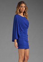 BCBGMAXAZRIA Asymmetrical Mini Dress