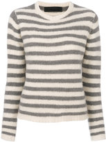 The Elder Statesman striped cashmere jumper - women - Cashmere - S