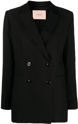 Twin-Set Double-Breasted Blazer