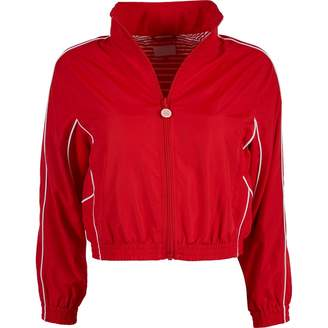 Mother Red Synthetic Jackets