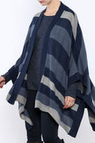 BB Dakota Oversized Stripe Cardigan