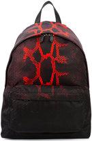 Givenchy snakeskin print backpack - men - Acrylic/Polyamide - One Size