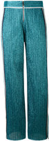Aviu lurex side-stripe trousers - women - Cotton/Polyamide/Polyester/Spandex/Elastane - 42