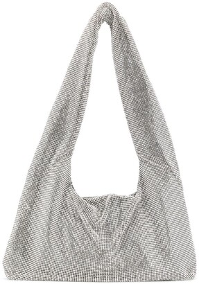 Kara Crystal Mesh Tote Bag