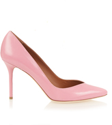 Malone Souliers Brenda point-toe leather pumps