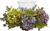 Asstd National Brand Nearly Natural Mixed Hydrangea Candelabrum Silk Arrangement