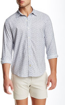 Parke & Ronen Printed Long Sleeve Slim Fit Shirt