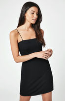 Lisakai Ribbed Cord Strap Bodycon Dress