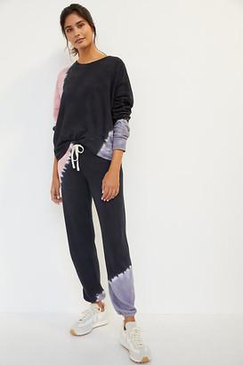 Sundry Lana Tie-Dye Joggers By in Black Size XS