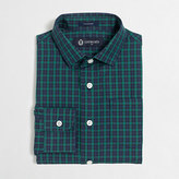 J.Crew Factory Boys' patterned Thompson spread-collar dress shirt