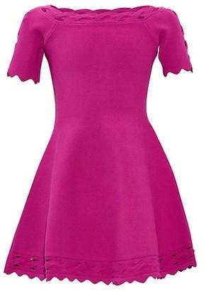 Milly Girl's Keyhole Twist Trim Dress