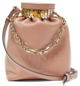 Altuzarra Ice Leather Cross-body Bag - Womens - Beige