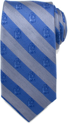 Cufflinks Inc. Star Wars R2-D2 Striped Silk Tie