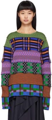 Comme des Garcons Multicolor Pattern Sweater