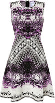 Herve Leger Printed Cocktail Dress