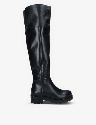 Kurt Geiger Barber over-the-knee leather boots