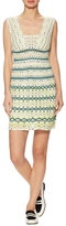M Missoni Cotton Intarsia Short Dress