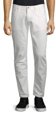 Dolce & Gabbana Embroidered Palm Tree Slim-Fit Jeans