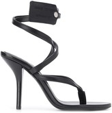 Off-White Off White zip-tie tag strappy sandals