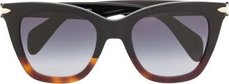 Rag & Bone Eyewear Wayfarer-Style Sunglasse