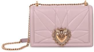 Dolce & Gabbana Beige Devotion Bag L