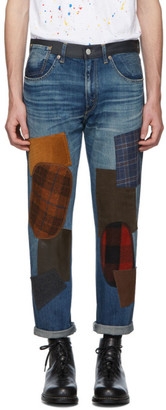 Junya Watanabe Indigo Levis Edition 501 1954 Customized Jeans