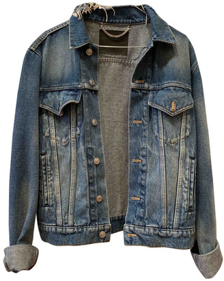 Balenciaga Blue Denim - Jeans Jackets