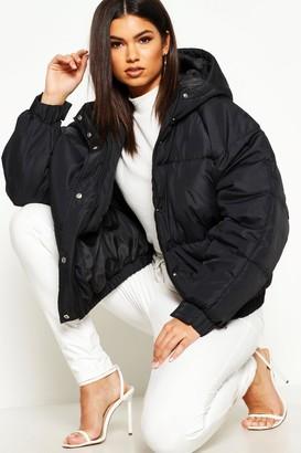 boohoo Oversized Raglan Puffer Jacket