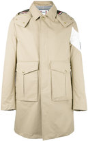 Moncler Gamme Bleu single breasted coat - men - Cotton/Cupro - 1