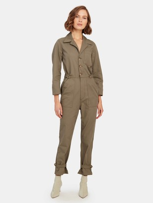 TRAVE Giselle Button Front Jumpsuit
