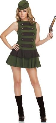 Mystery House Women's Steampunk Soldier