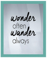 "PTM Images Wonder & Wander Wall Decor - 16.75"" x 20.75\"""