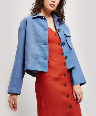 Paloma Wool Apollonia Linen Square-Fit Jacket