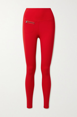 Erin Snow Peri Stretch Ski Leggings - Red