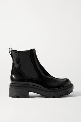 Rag & Bone Shaye Patent-leather Chelsea Boots - Black