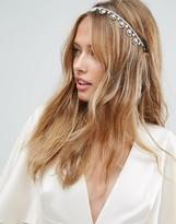 Asos Wedding Embellished Crown Headband