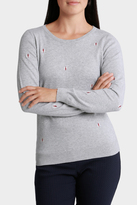 Embroidered Long Sleeve Jumper